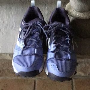 Women's Adidas galaxy sneakers Purple white